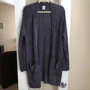 Time and Tru Chenille Cardigan